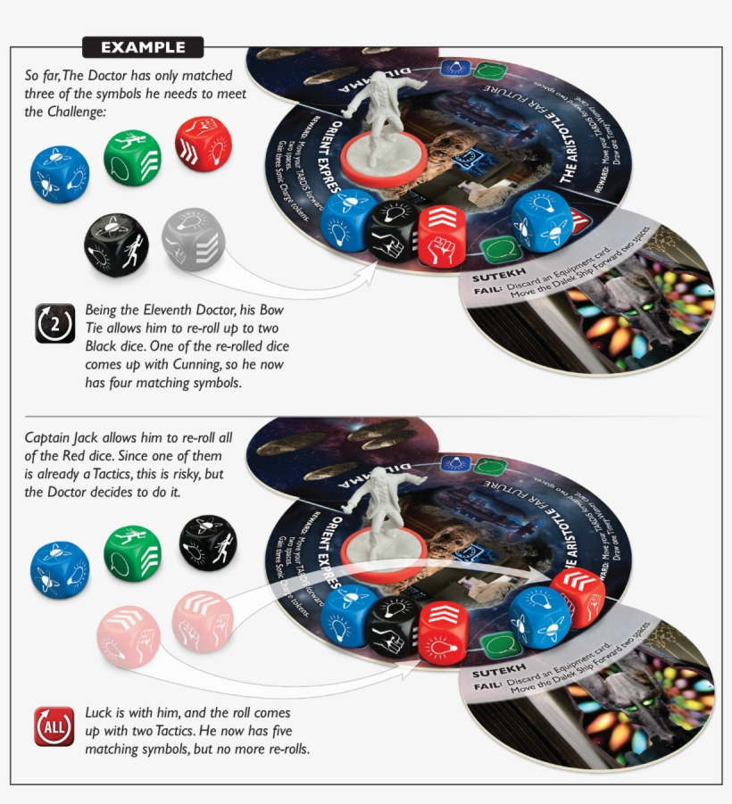 Looking At The Challenge He Is Facing, The Doctor Sees - Doctor Who Time Of The Daleks Board Games, transparent png #6172075
