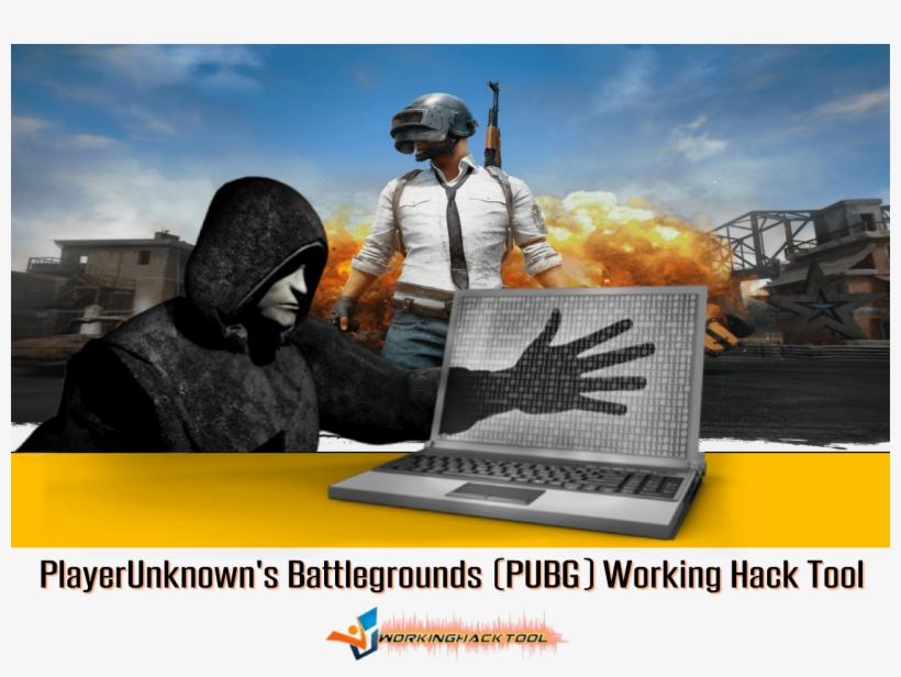 Playerunknown's Battlegrounds Working Hack Tool - Pubg Mobile Game Poster, transparent png #6187961