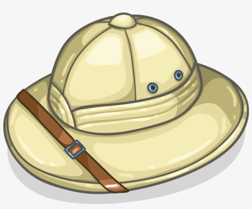 Cartoon Safari Hat Modern Item Detail Itembrowser - Safari Hat Png, transparent png #620188