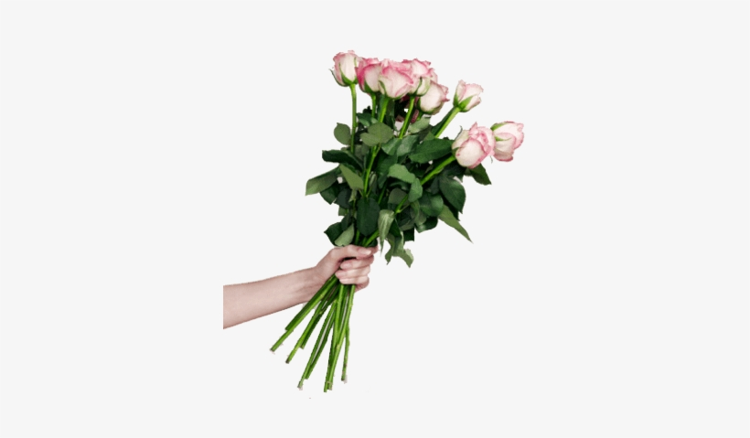 Bouquet Of Rose Flowers - Bunch Of Flowers, transparent png #620600