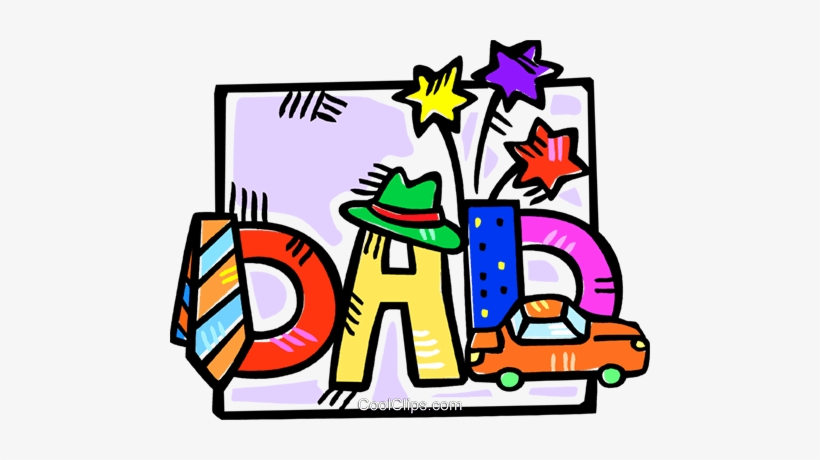 Father S Day Motif Royalty Free Vector Clip Art Illustration Father S Day Clip Art Free Transparent Png Download Pngkey