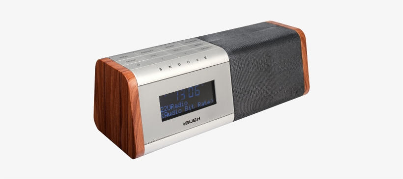 Digital Radio Alarm Clock - Bush Digital Radio Alarm Clock Bcr35dabw, transparent png #620826