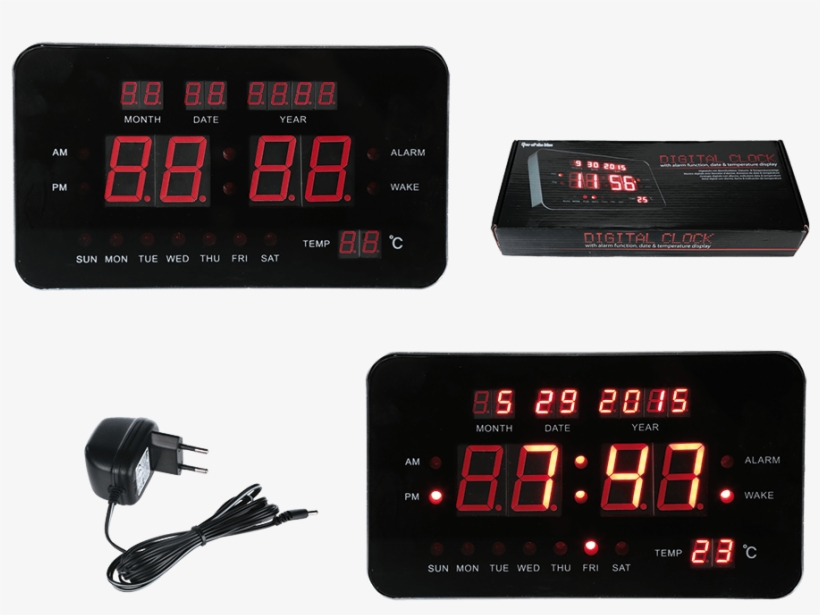 Out Of The Blue Plastic Digital Alarm Clock, transparent png #621027
