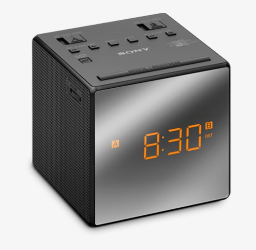 Sony Radio Clock Icf C1t B, transparent png #621422