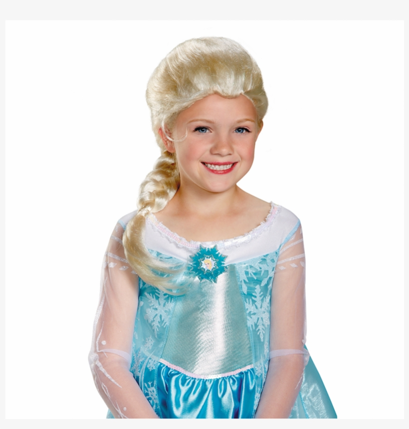 Frozen Elsa Child Wig - Frozen Elsa Wig Child, transparent png #623699