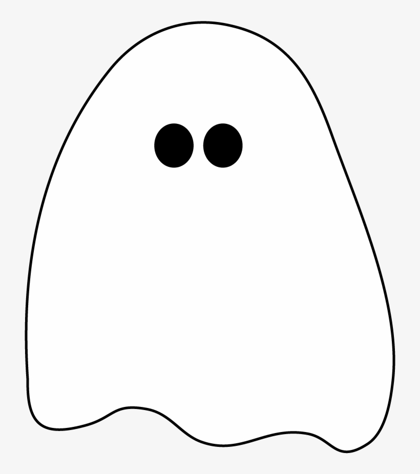 28 Collection Of Halloween Ghost Clipart For Kids - Cute Ghost Transparent Background, transparent png #624091