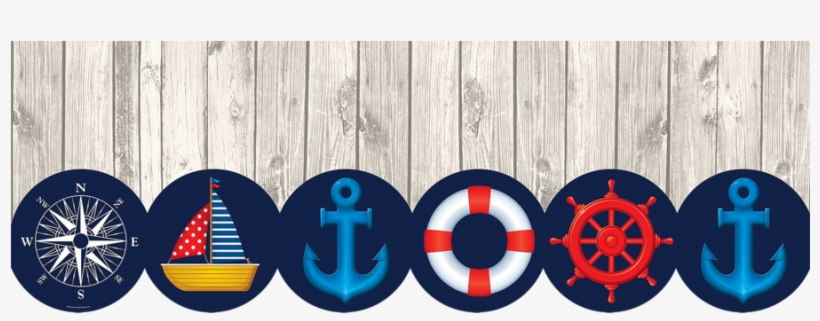 Mobile Gallery - Teacher Created Resources Nautical Big Big Border, transparent png #624124
