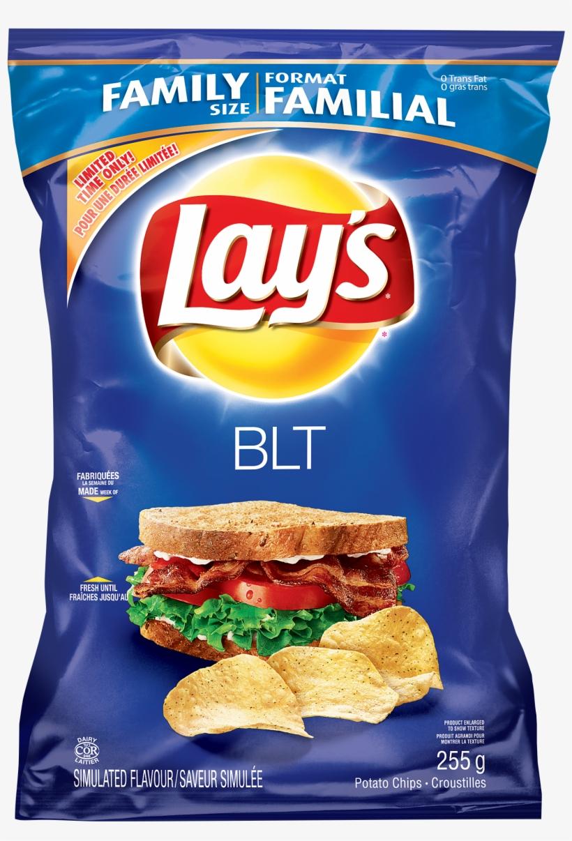 Lay's Smokey Bacon Potato Chips, transparent png #624198