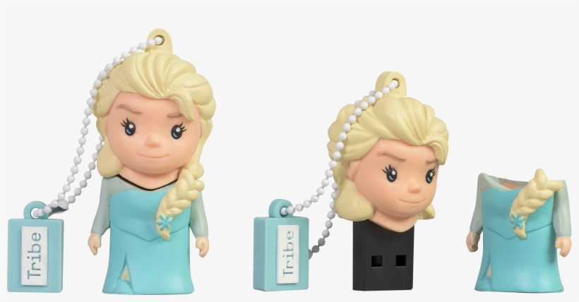 16gb Frozen Elsa Usb Drive - Tribe Frozen Elsa Usb Flash Drive - 8gb, transparent png #624325
