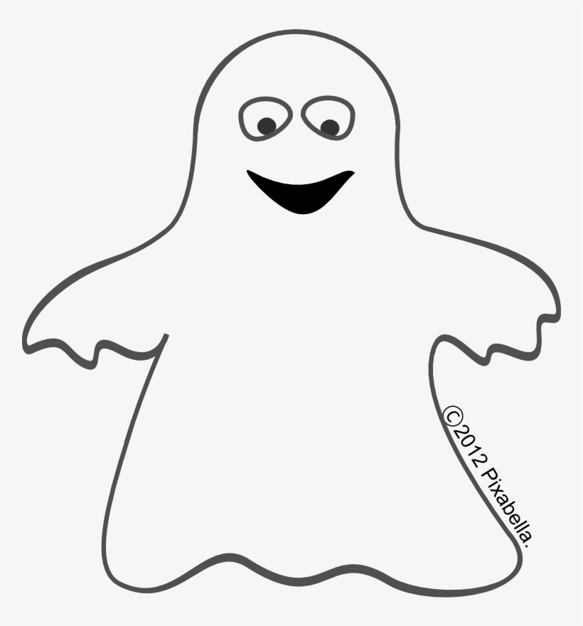 28 Collection Of Clipart Halloween Ghost - Halloween Ghost Cut Outs, transparent png #624368