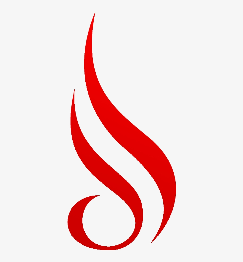God Of Fire Icon Png Image Transparent Download - Flame Logo Png