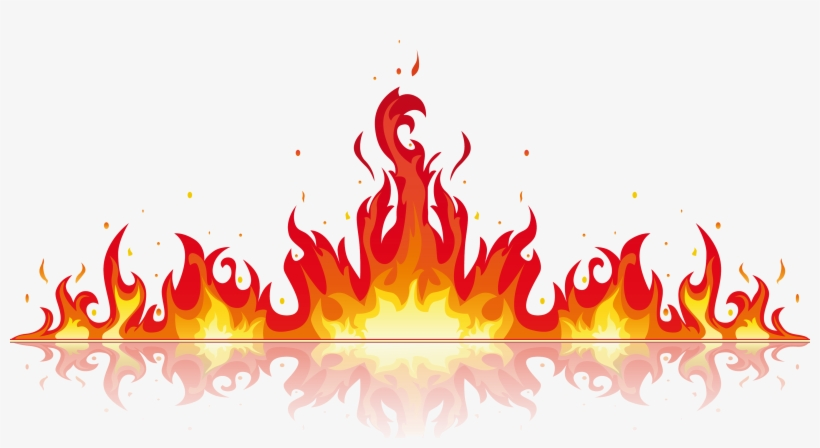 Real Fire Png - Fire Flame Vector Png, transparent png #624764