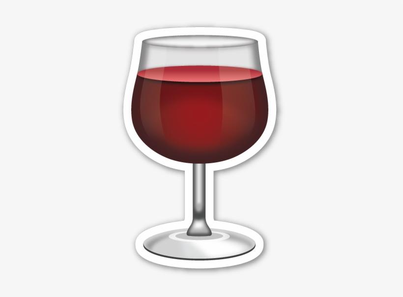 Emoticons│emoticones - - Copa De Vino Emoji, transparent png #625056
