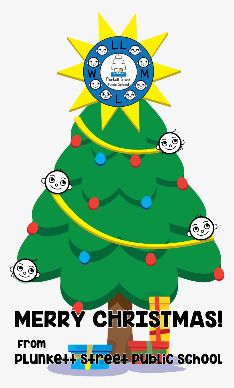 I Would Like To Wish The Plunkett Street Public School - Christmas Tree, transparent png #625945