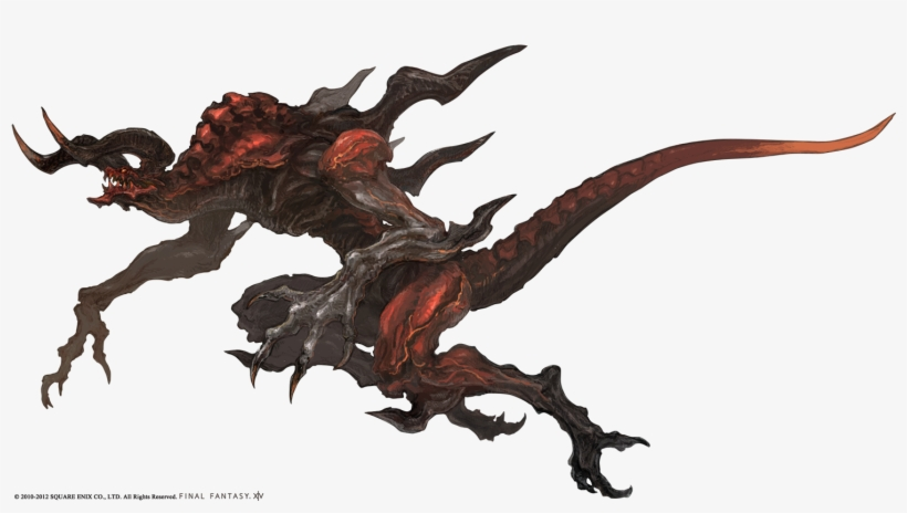 Http - //www - Finalfantasy - Net/wp-conte2/09/ifrit - Final Fantasy Creature Art, transparent png #626142