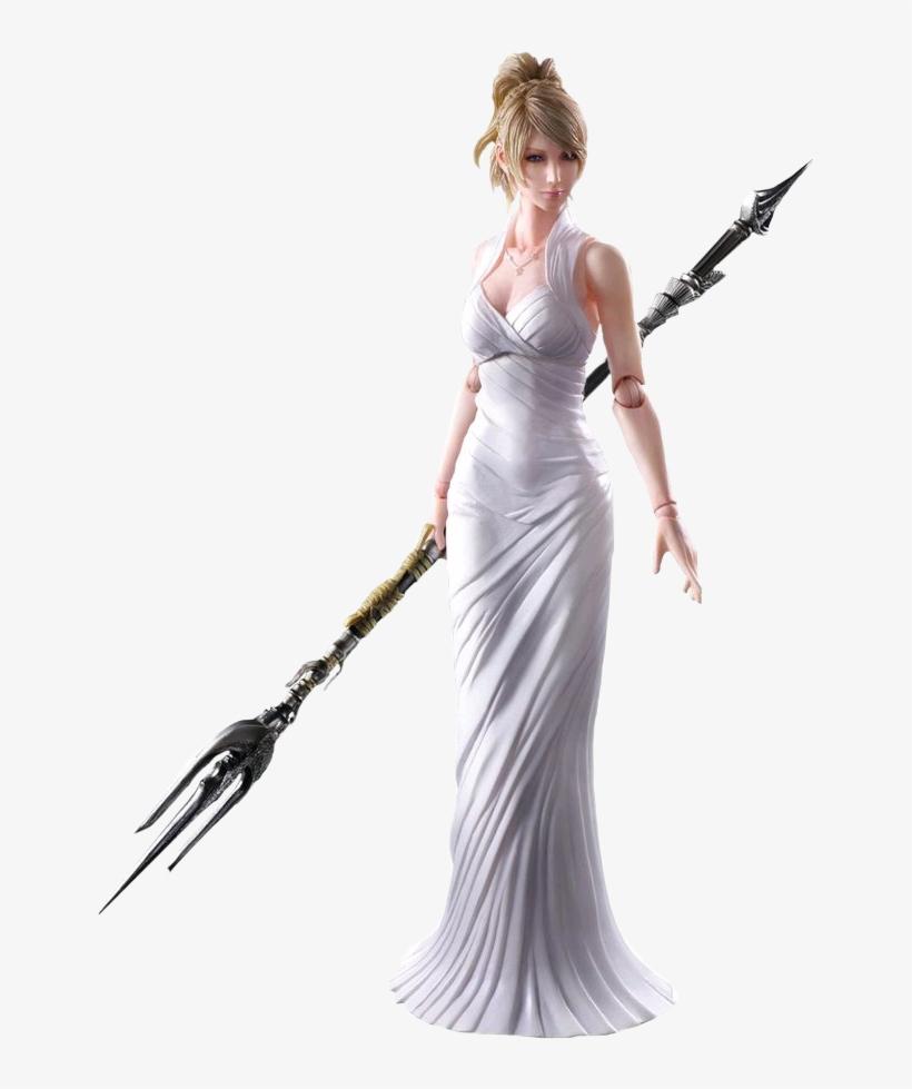 Final Fantasy Xv - Final Fantasy Lunafreya Figure, transparent png #626455