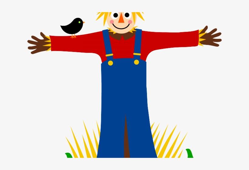 Harvest Clipart Scarecrow - Clip Art Scarecrow, transparent png #626873