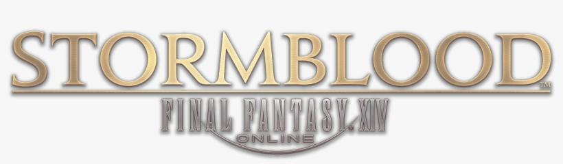 Final Fantasy Xiv - Final Fantasy Xiv Stormblood Logo, transparent png #626944