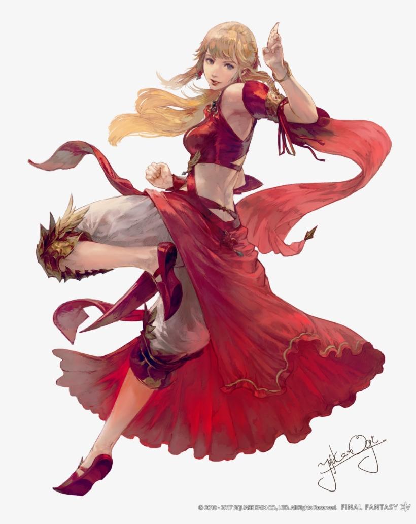 Final Fantasy Art Dancer - Final Fantasy Xiv Stormblood Lyse, transparent png #626986