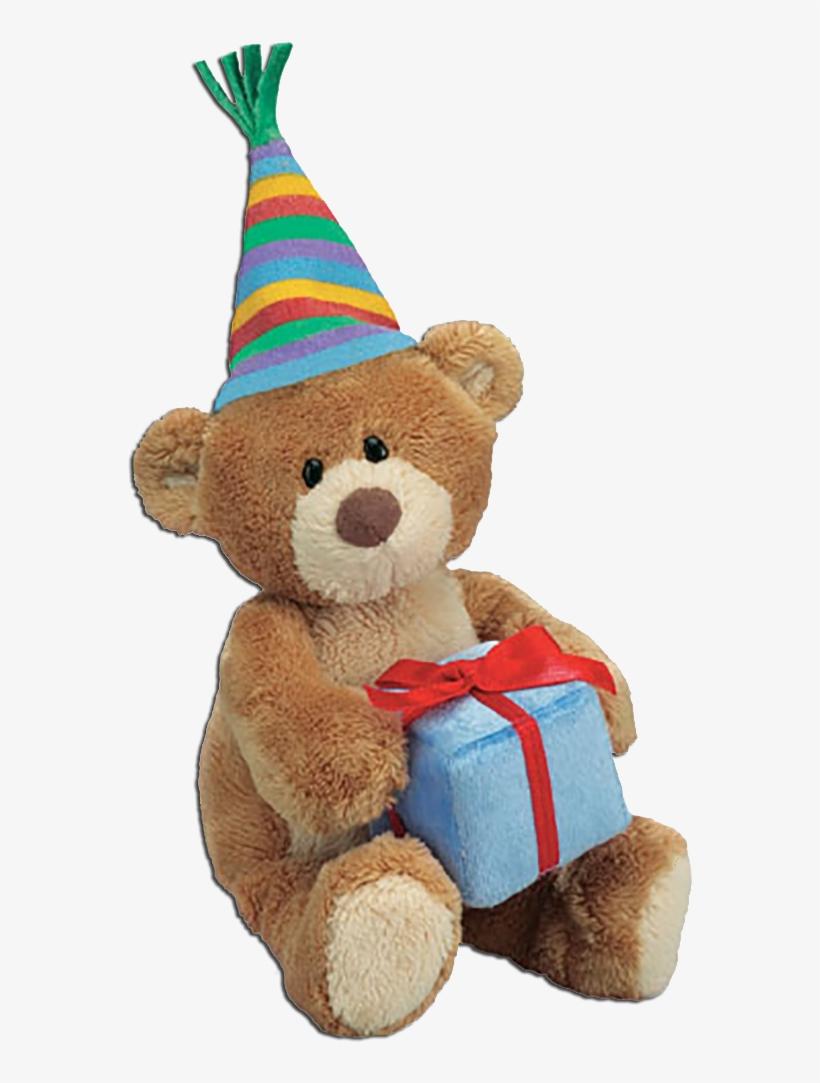 Gund Thinking Of You Teddy Bear Happy Birthday - Happy Birthday Gift Toy, transparent png #627743