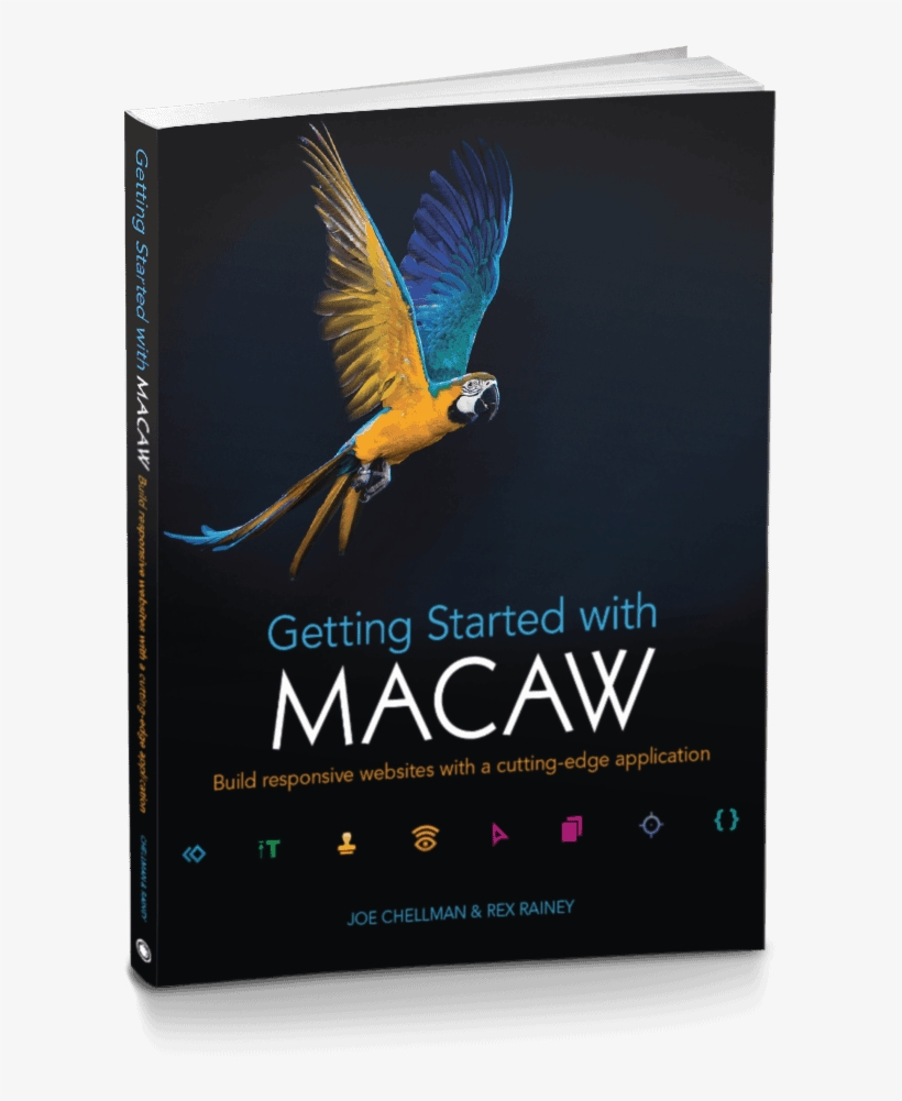 Getting Started With Macaw Cover - Getting Started With Macaw: Build Responsive Websites, transparent png #628706