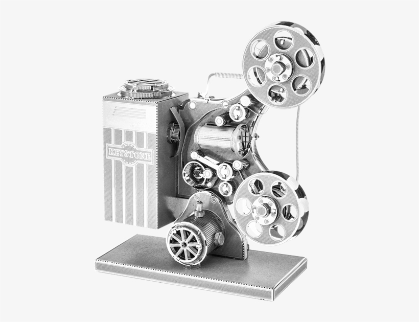 Metal Earth Vintage Movie Projector - Metal Earth Movie Projector, transparent png #628960