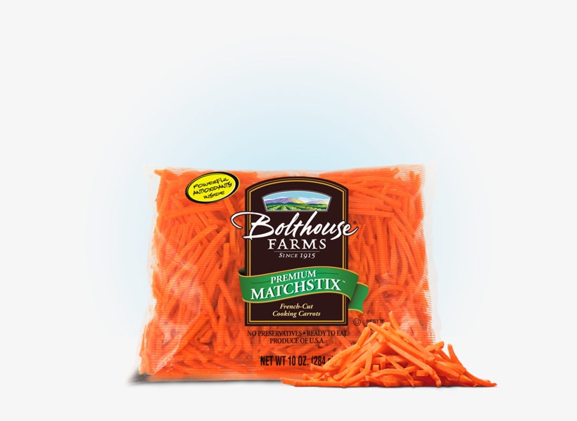 Bolthouse Farms Matchstick Carrots, 10oz Sheri's Store - Bolthouse Farms Baby Cut Carrots - 80 Oz Packet, transparent png #6200251
