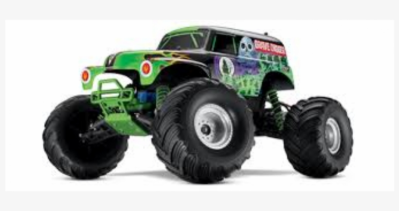 Traxxas Off Road Rc - Traxxas Grave Digger Monster Truck, transparent png #6208640