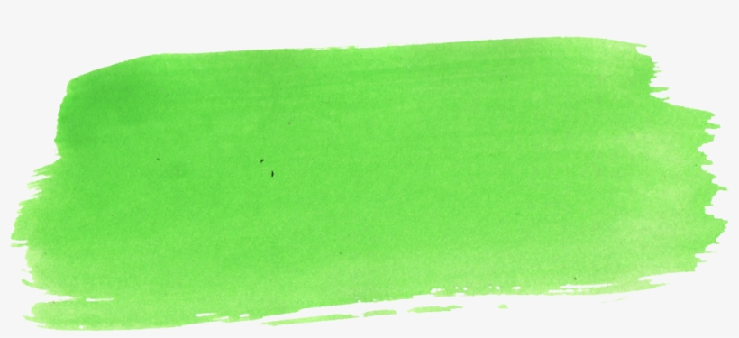 Png File Size - Green Yellow Watercolor, transparent png #6210960