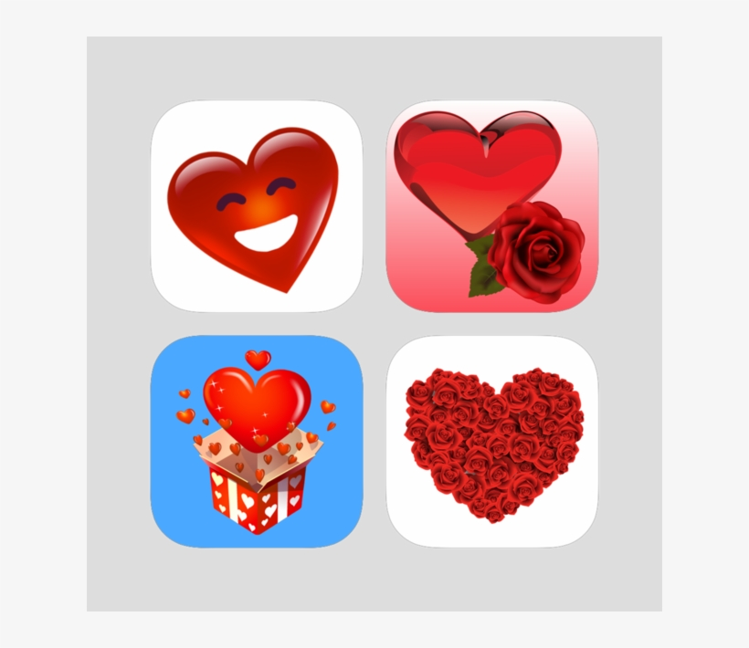 Love & Romantic Stickers Pack On The App Store - Love - Free