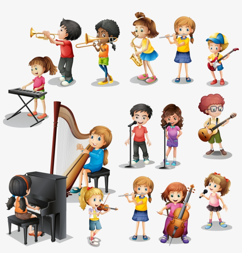 Musical Instrument Play Child - Kids Play Instrument, transparent png #6221029