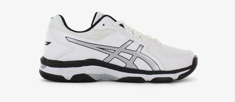 Asics Gel 540tr Leather Gs Kids Leather White Silver Asics