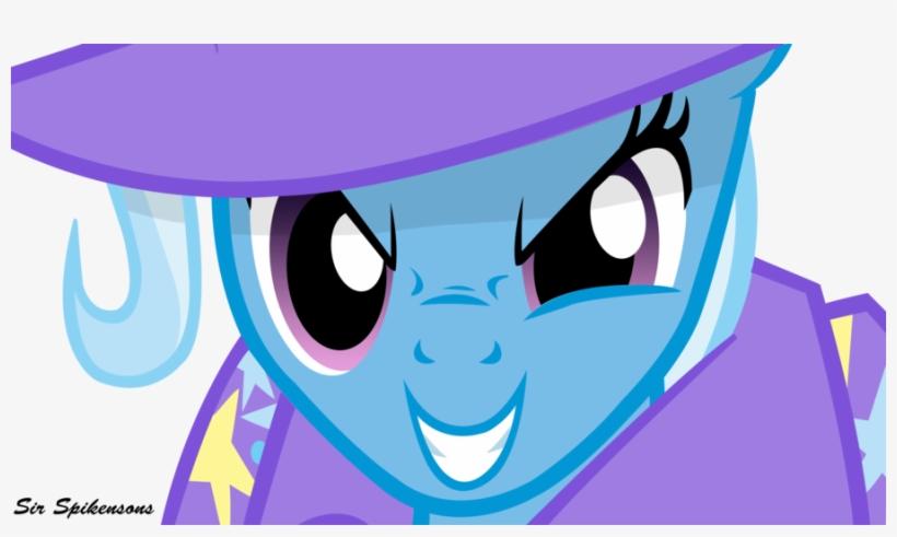 My Little Pony Trixie Evil Download - Mlp Trixie Evil Smile, transparent png #6227774