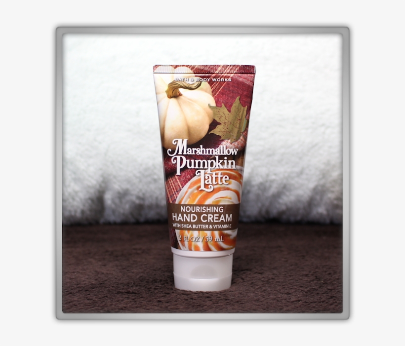 Bath & Body Works Delicious Cozy Candle Haul And Review - Bath & Body Works Marshmallow Pumpkin Latte Hand, transparent png #6250417