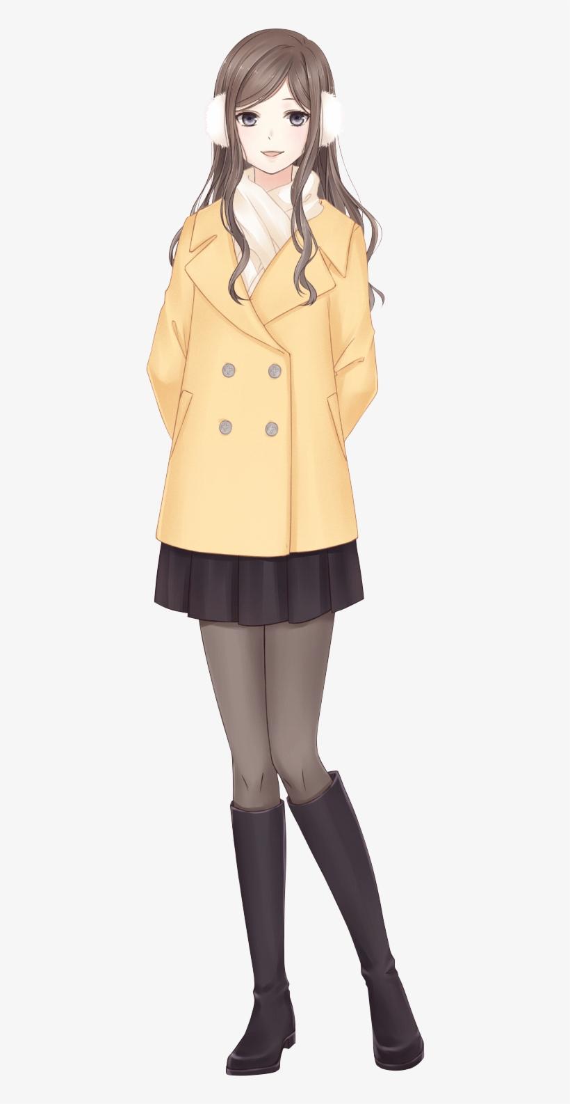 Chapter 5 可可 Beautiful Anime Girl, Anime Outfits, Manga - Vestido De Otoño Anime, transparent png #6251287