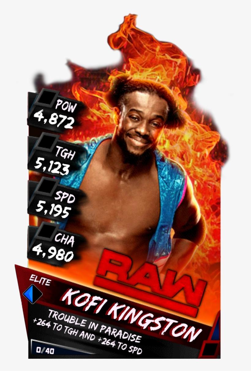 Supercard Kofikingston S3 Elite Raw 9613 - Wwe Supercard Finn Balor, transparent png #6253326
