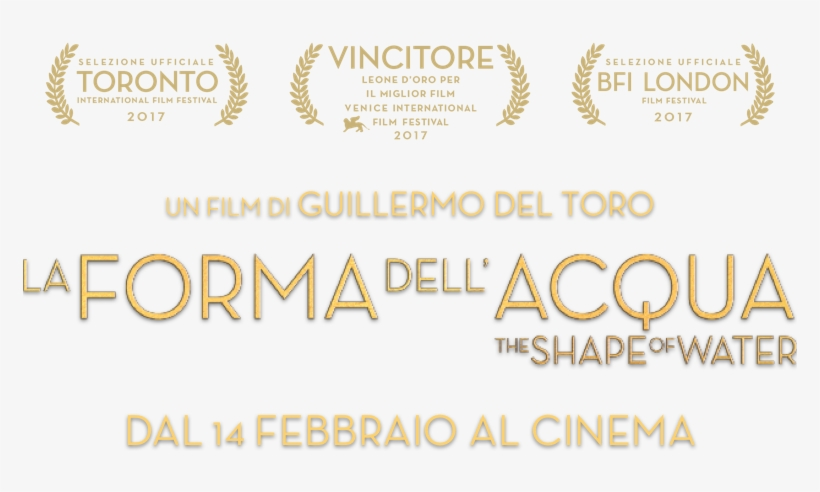 La Forma Dell'acqua - International Film Festival - Free Transparent