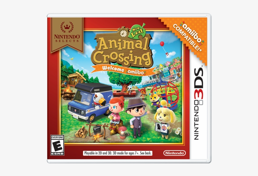 New Leaf - Animal Crossing New Leaf Welcome Amiibo, transparent png #6265741