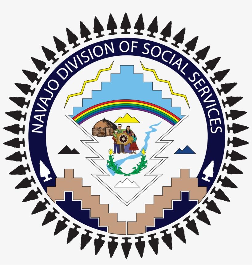 Navajo Nation Division Of Social Services - Seal Navajo Nation Symbol, transparent png #6269346