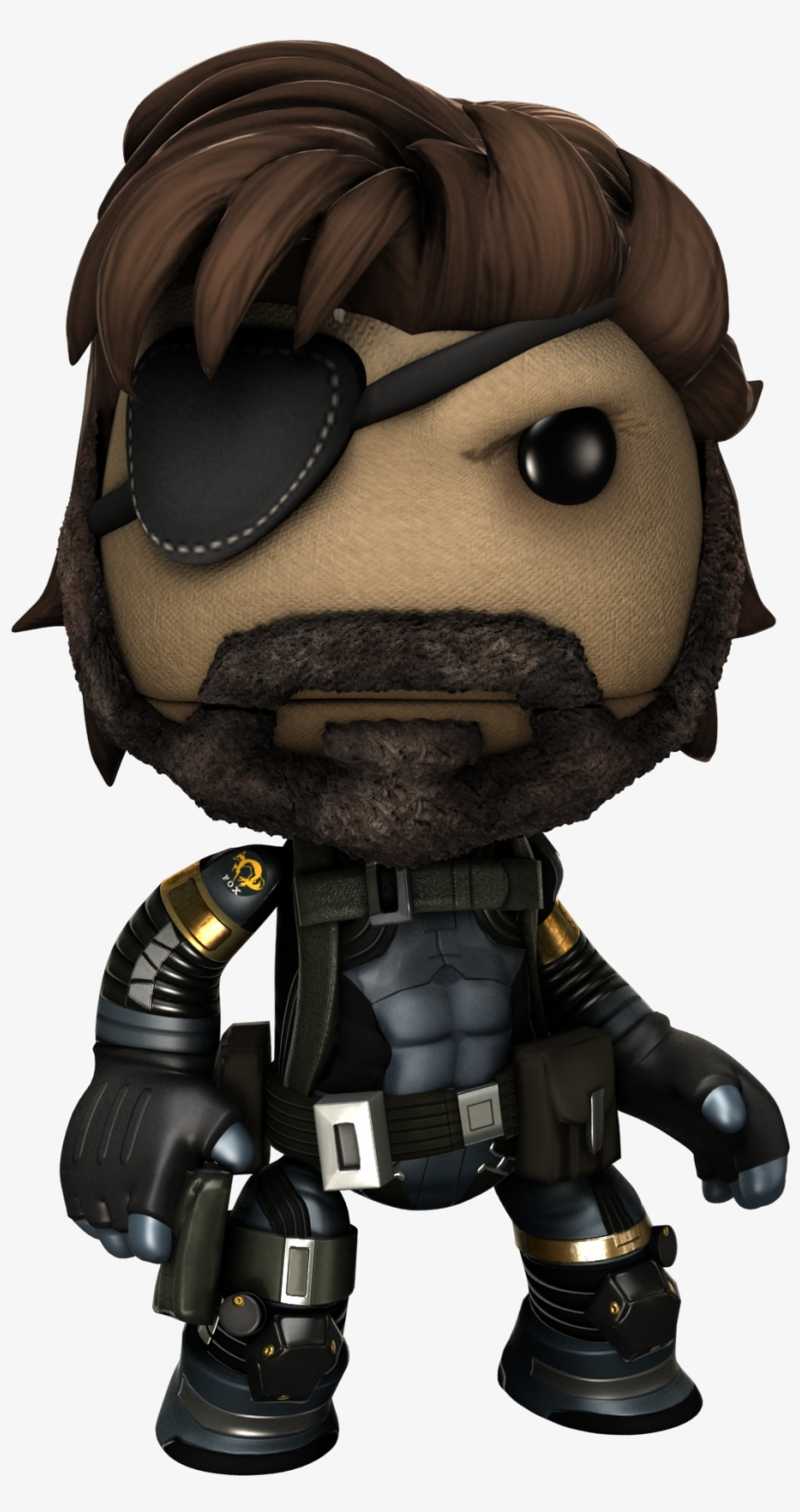 Metal Gear Solid - Little Big Planet Metal Gear Solid, transparent png #6272196