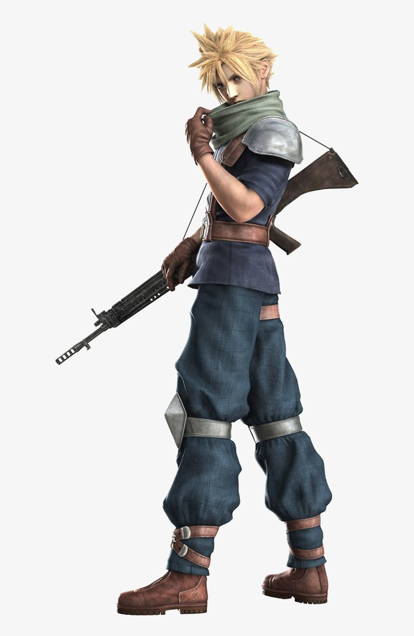 Latestcb=20161025161859 - Final Fantasy Cloud Soldier, transparent png #6277983