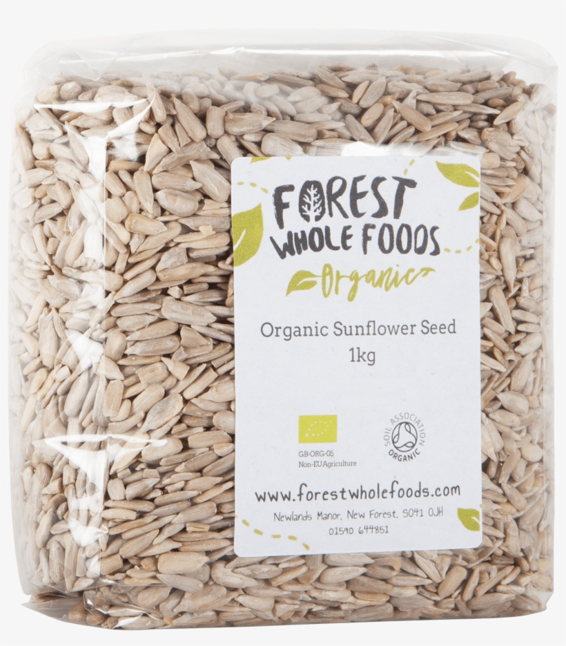 Organic Sunflower Seed 1kg - Forest Whole Foods Organic Hulled Sesame Seeds 500g, transparent png #6279880