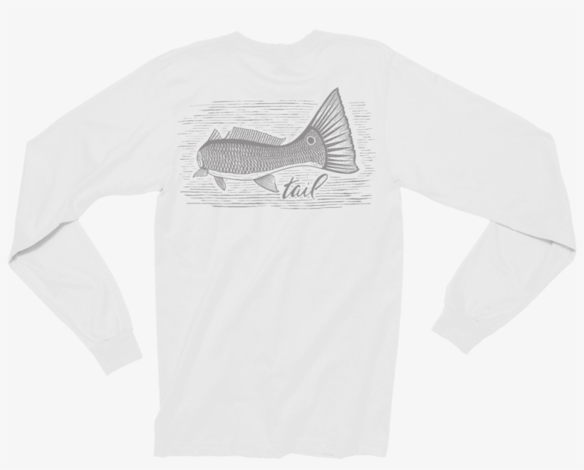 Long Sleeve Tee - Fly Fishing, transparent png #6287551