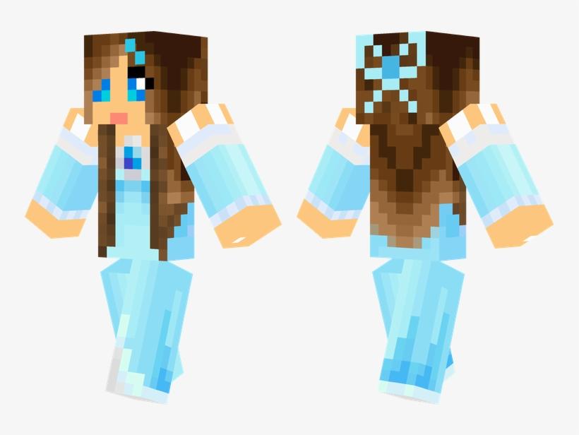 Ice Princess Minecraft Skins Cool, Minecraft Food, - Princess Minecraft Skin For Girls, transparent png #6287969