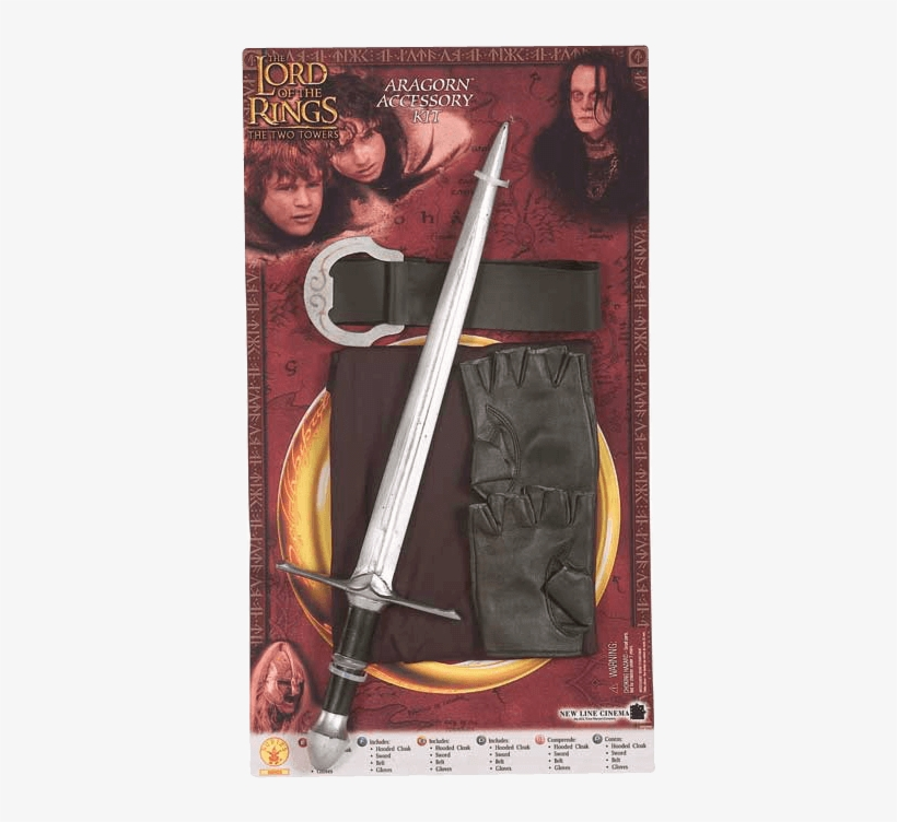 Kids Aragorn Accessory Kit - Kids Lord Of The Rings Aragorn Costume, transparent png #6291377