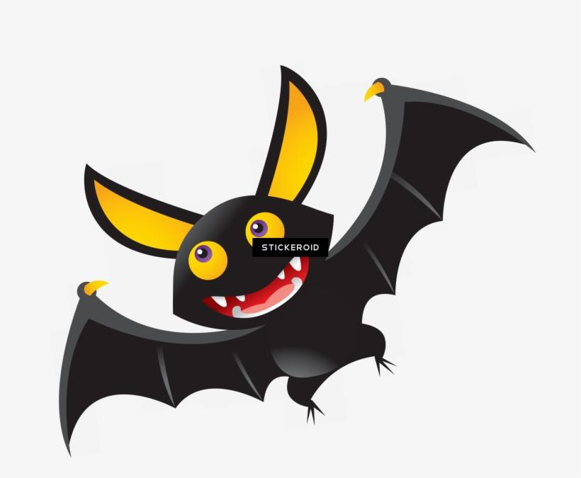 Halloween Bat - Cute Halloween Bat Clipart, transparent png #6291574