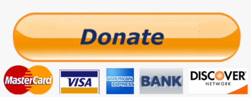 Projects And Initiatives - Big Paypal Donate Button, transparent png #6296053