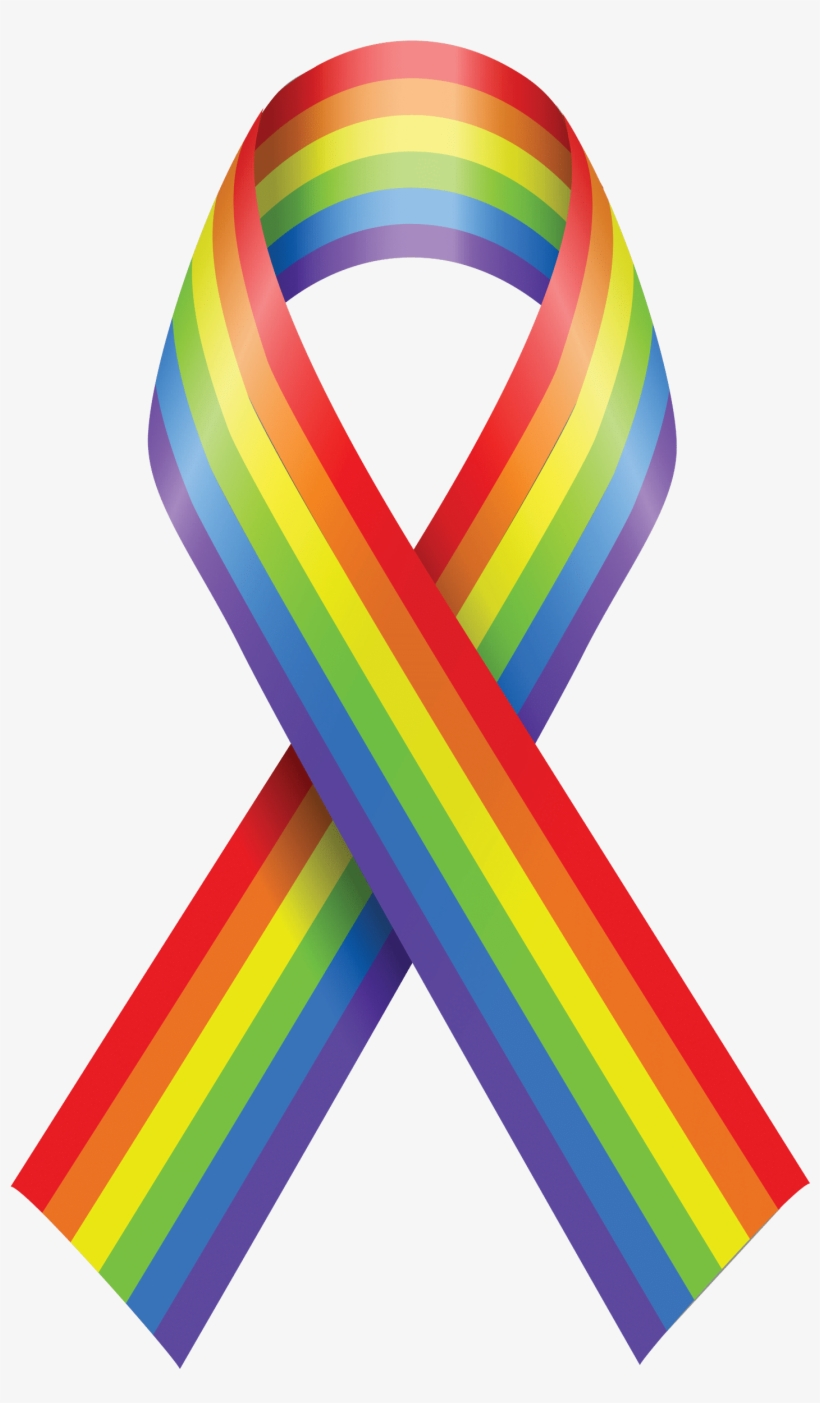 National Coming Out Day Campaign - National Coming Out Day Ribbon, transparent png #6296261