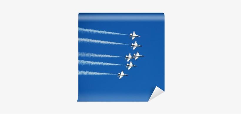 Team Of Fighter Jets Flying In Formation Wall Mural - L'essentiel De La Formation: Préparer, Animer, Évaluer, transparent png #630105