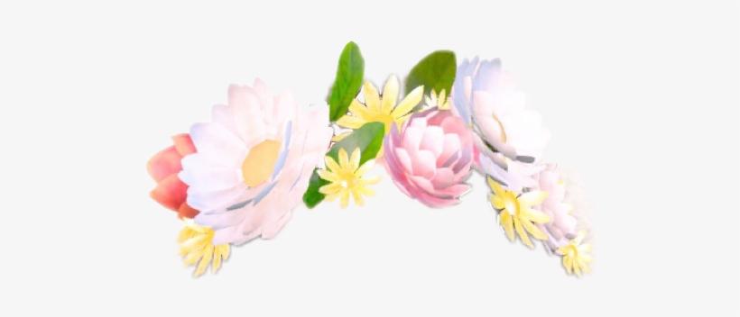 Flower Snapchat Flowercrown Filter Stickerfreetoedit - Flower Crown Snapchat Filter Transparent, transparent png #630558